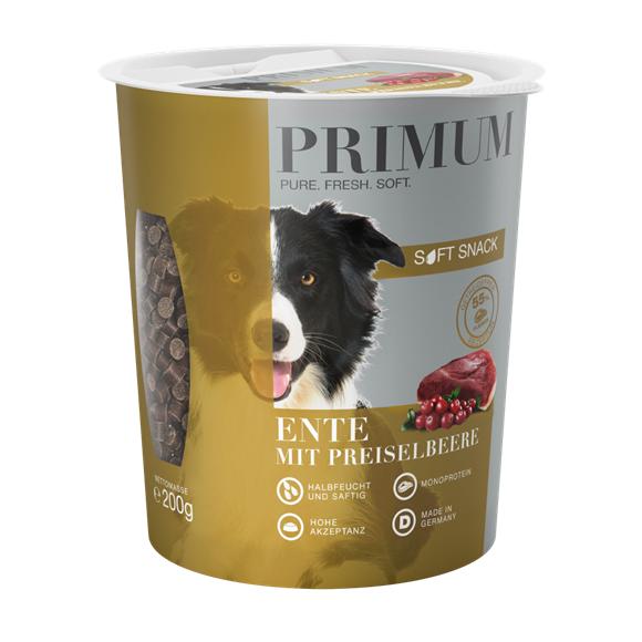 PRIMUM SOFT SNACK - Ente mit Preiselbeere