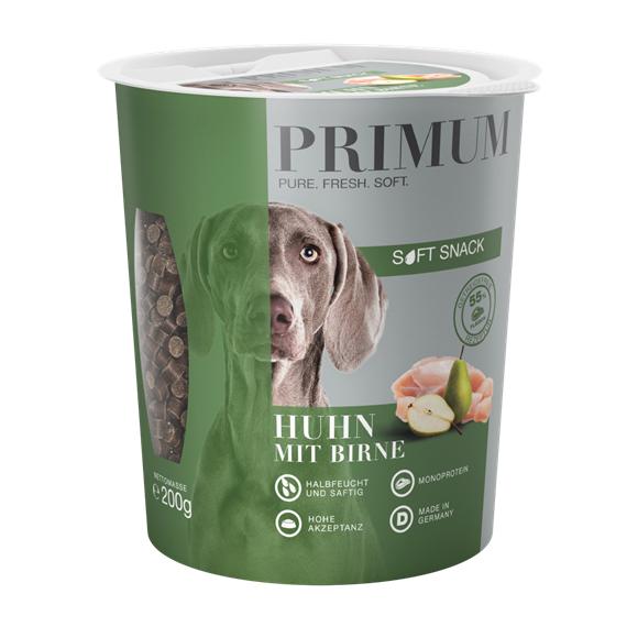 PRIMUM SOFT SNACK - Huhn mit Birne