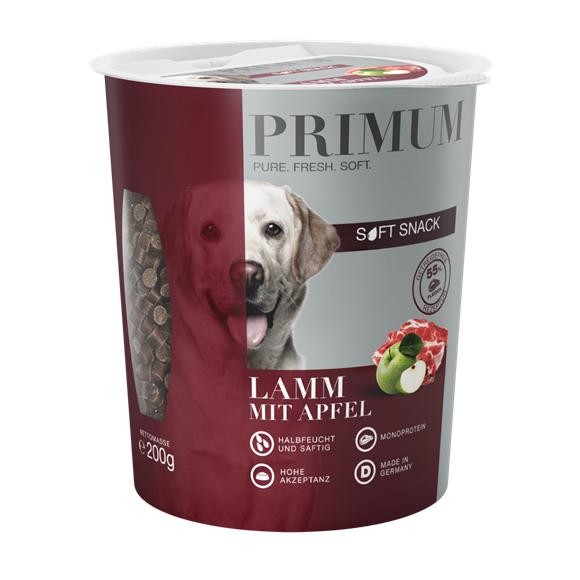 PRIMUM SOFT SNACK - Lamm mit Preiselbeere