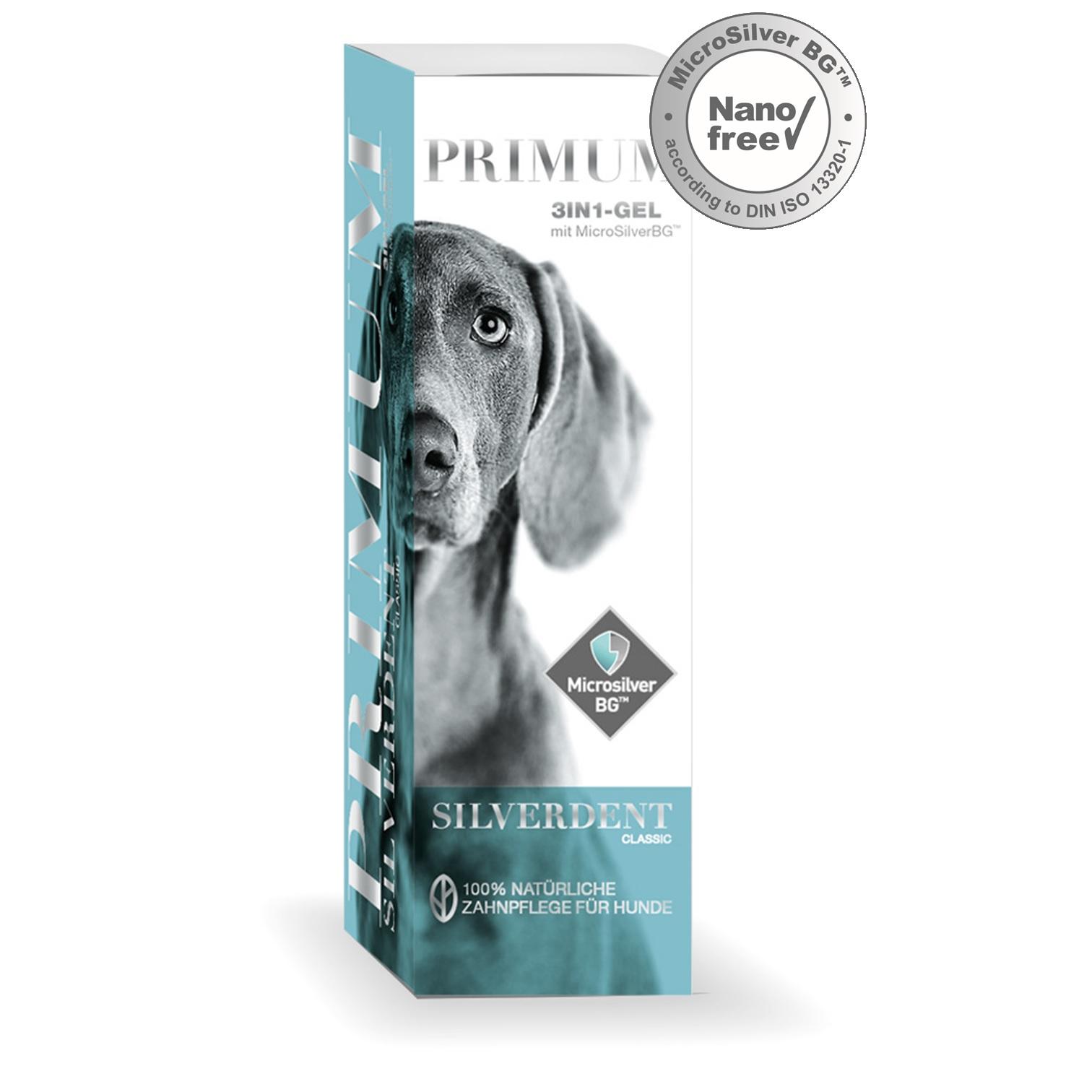 Primum Silverdent Classic Gel Zahnpflege