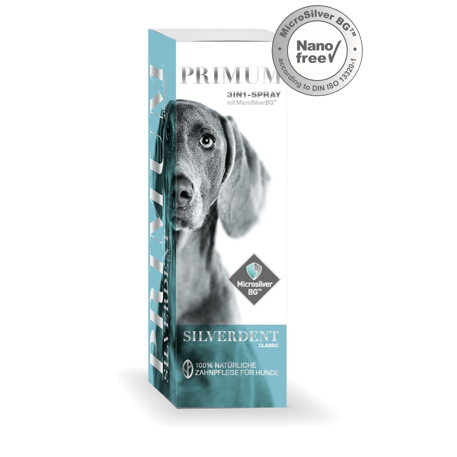 Primum Silverdent Classic Spray Zahnpflege