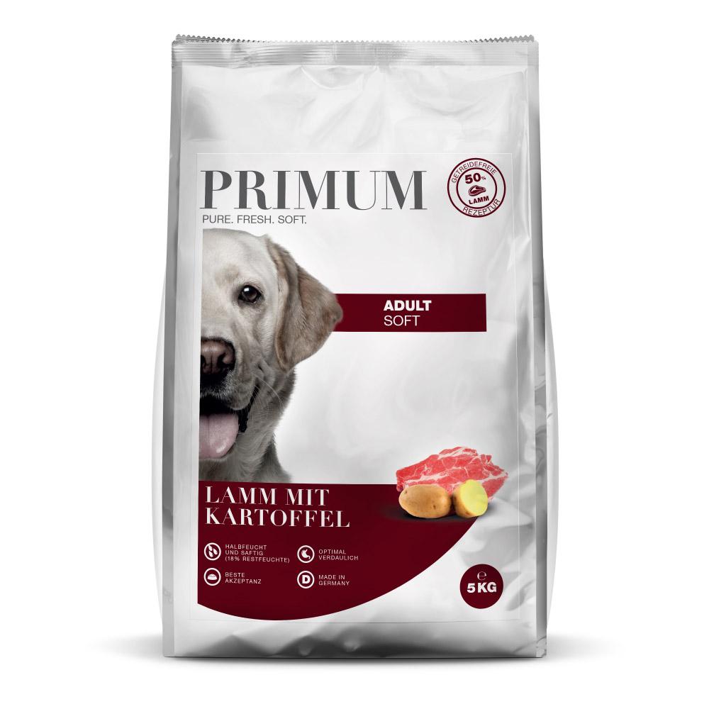 Primum Halbfeuchtes Hundefutter Lamm mit Kartoffel