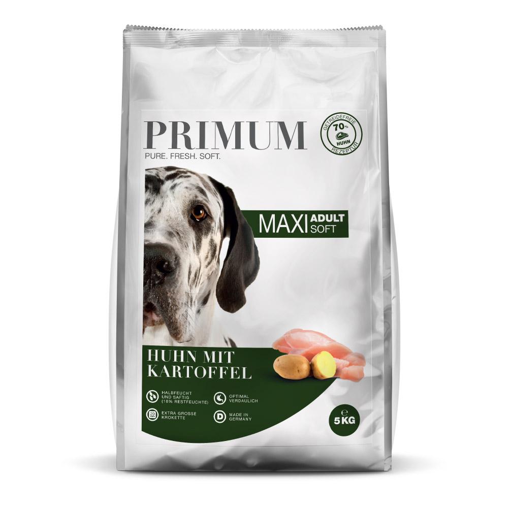 Primum Halbfeuchtes Hundefutter Maxi Huhn mit Kartoffel